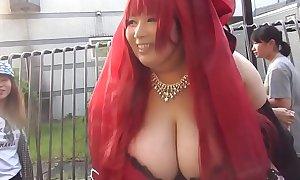 Japanese Woman Prevalent Massive Tits (Part 1) - Pumhot.com