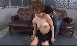 Ayaka Fujikita, unskilful mollycoddle in dirty bondage porn scenes - From JAVz.se