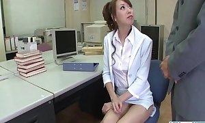 Misato Sakurai gets stimulated helter-skelter toys