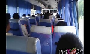 Young &_ Courageous Oriental Exhibitionist Wanks Vulnerable Metro