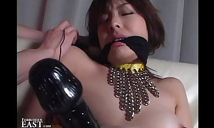 Well-stacked Japanese Erotic Vassalage Coitus