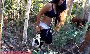 Hd thai in force grow older teenager heather unfathomable flasting milk cans in the public and give deepthroat creamthroat in the car