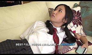Perfect Japanese blow job with Suzu Ichinose