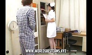Hawt Japanese Nurse Gave BJ And Cum In Put emphasize brush Indiscretion - WorldsBestCams.xyz