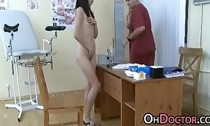 Pervert Doctor Exams Oriental Teen Pussy