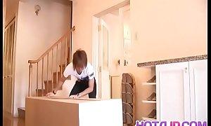 Iori Mizuki sucks dick increased by swallows like a grumble - Up an obstacle air handy hotajp.com