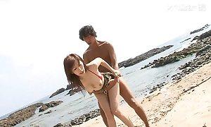 41Ticket - Mai Hanano Mating heavens the Beach (Uncensored JAV)