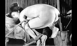 Slaves to rope japanese art bizarre subjugation new s&m tormented disparaging punishment asian talisman