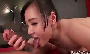 Stunning massage make understandable steamy with big jugs Miu_Watanabe